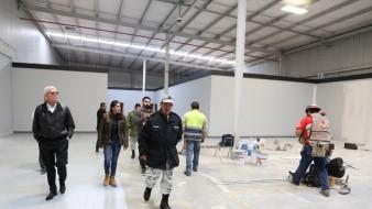 """El Gobernador informó que el día 22, se dará el """"banderazo"""" al nuevo cuartel de la corporación ubicado en la Mesa de Otay."""