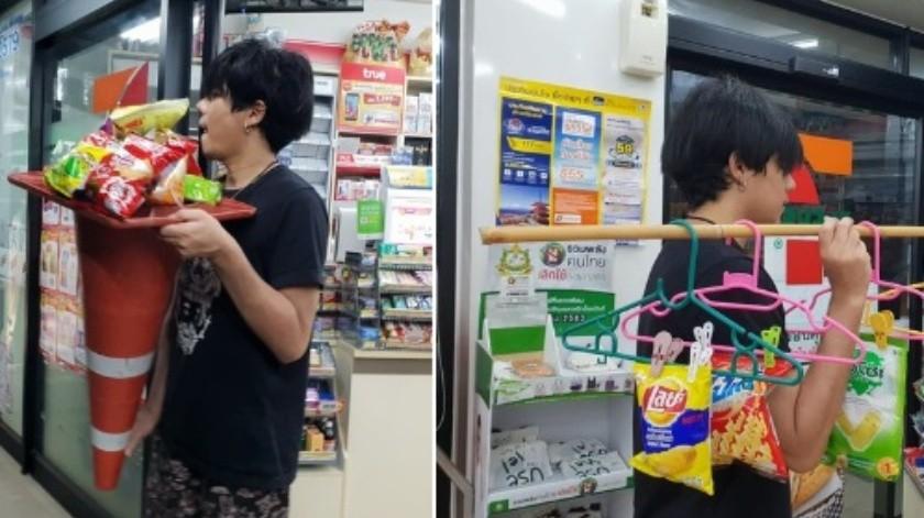 Tailandia prohíbe bolsas de plástico, los residentes hallan alternativas creativas