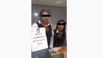 Veracruz: Cajera de banco denuncia a cuentahabiente por amenazas