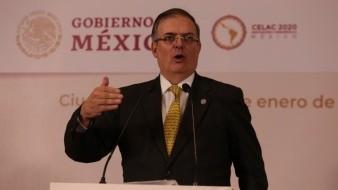 Marcelo Ebrard tendrá reunión con fiscal general de EU