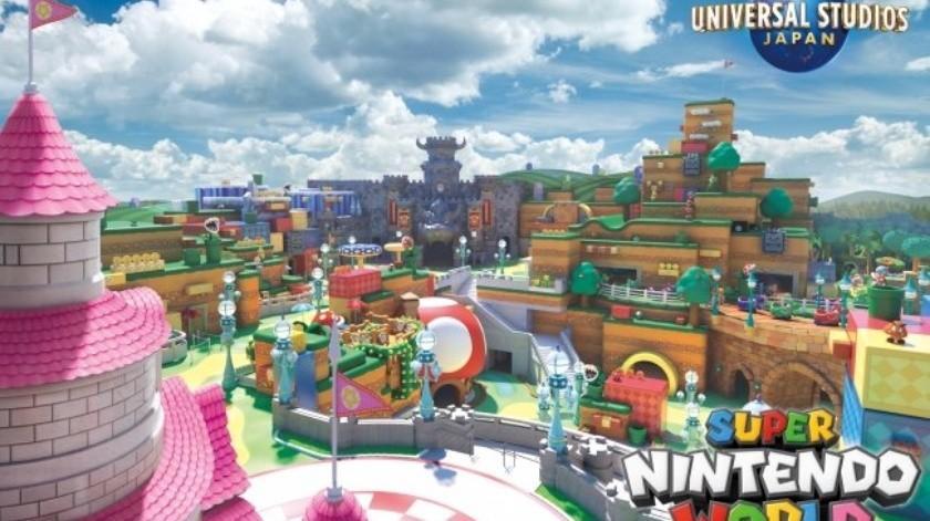El lugar también incluiría atracciones inspiradas en los juegos Mario Kart y Donkey Kong.(Universal Studios Japan)