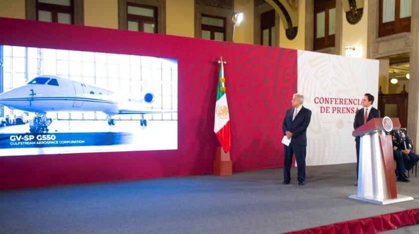 Avión presidencial(Gobierno de México)