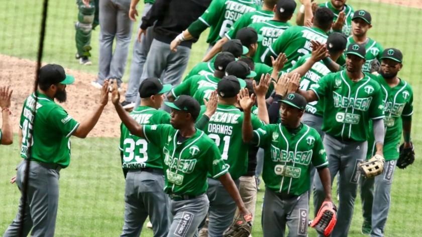 Olmecas, equipo de la Liga Mexicana de Beisbol, fue campeón en 1993, desde entonces sólo han clasificado para nueve playoffs, pero no han logrado nuevamente el título.(Agencia Reforma)