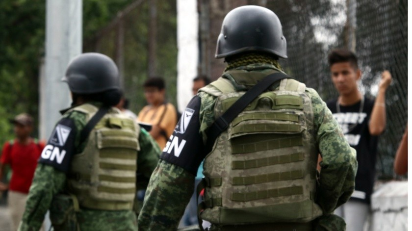 El gobierno estatal solicitará 500 elementos de la Guardia Nacional.(Archivo)