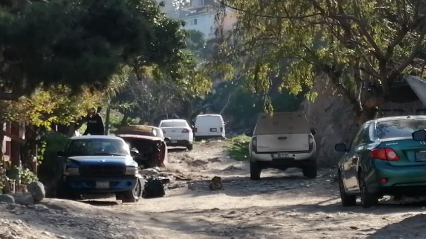Encuentran cadáver violentado en la Sánchez Taboada(Cortesía)
