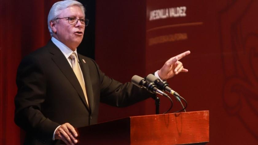 El gobernador Jaime Bonilla Valdez.