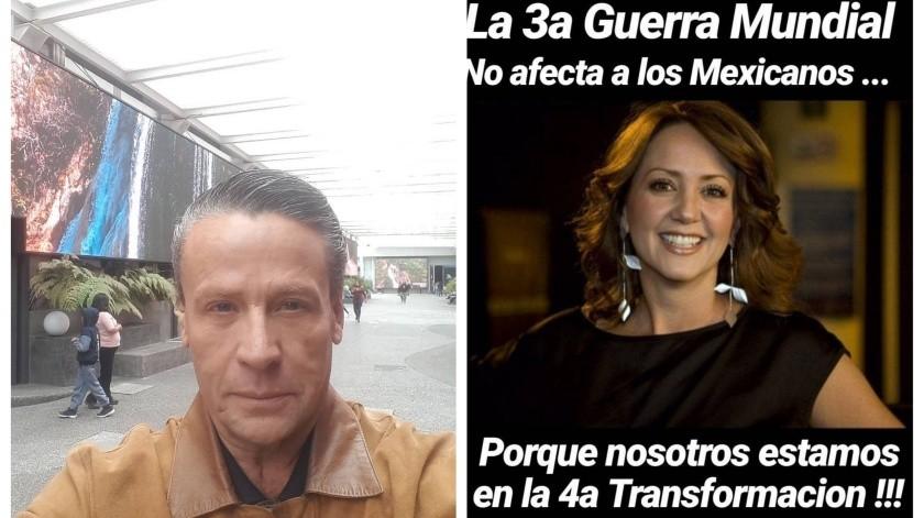 Alfredo Adame se lanza contra Andrea Legarreta y publica meme de la conductora de Hoy