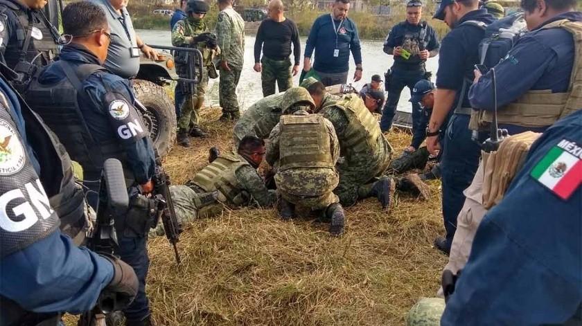 Mueren cuatro militares tras volcadura de vehículo de GN(Especial)