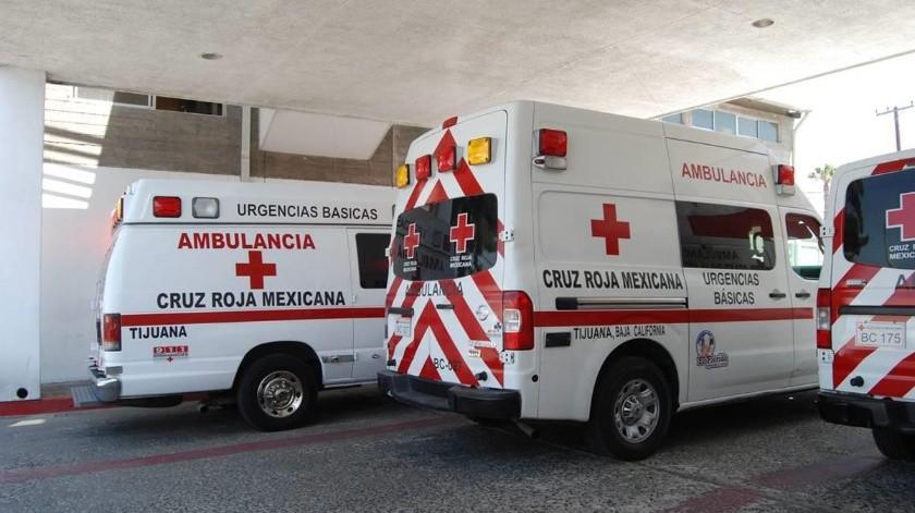 La menor fue atendida por paramédicos de Cruz Roja.
