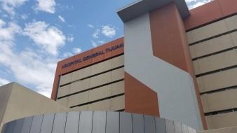 Se prevé que el hospital reciba piezas hoy para reparar el aparato.