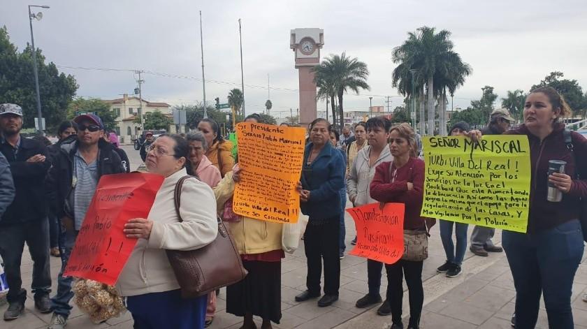 """""""Invasores"""" desean ayuda para regularizar sus viviendas.(Mayra Echeverría)"""