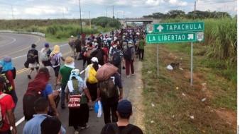Nueva caravana migrante de Centroamérica no llegará a BC: Delegado
