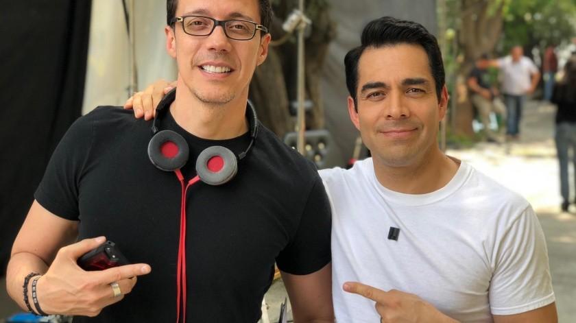El director sonorense Pepe Bojórquez afirma que Omar Chaparro siempre fue su primera opción para el personaje de Pedro Infante.(Cortesía/EL IMPARCIAL)