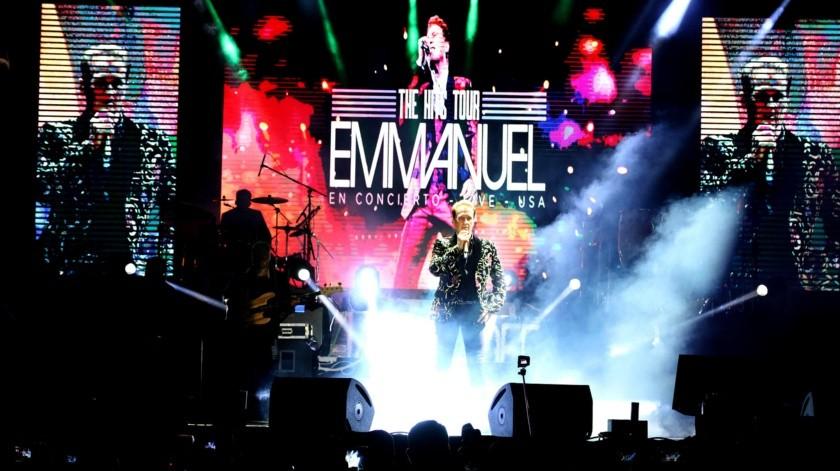 Emmanuel se presenta en el FAOT 2020(Julián Ortega)