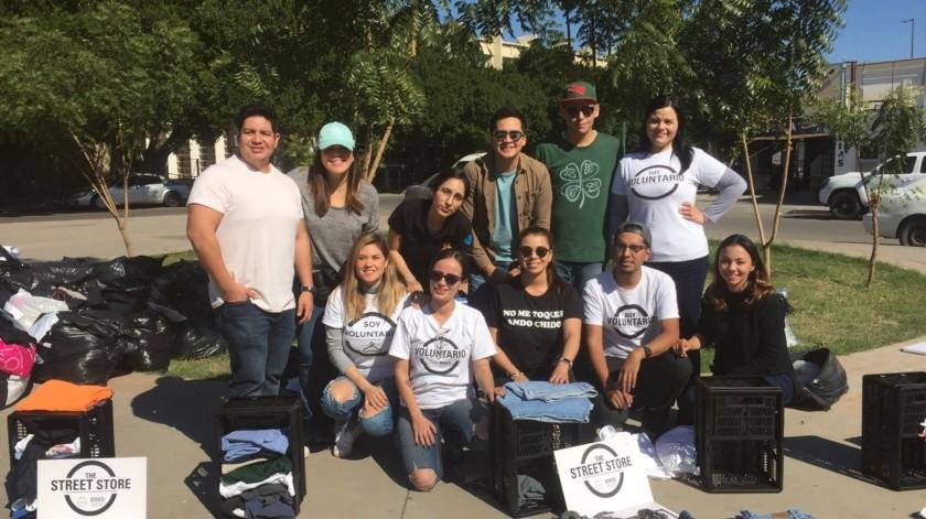 Se benefician 78 indigentes con actividad The Street Store Hermosillo(Laura Olguín)