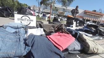Acoge a indigentes la Street Store