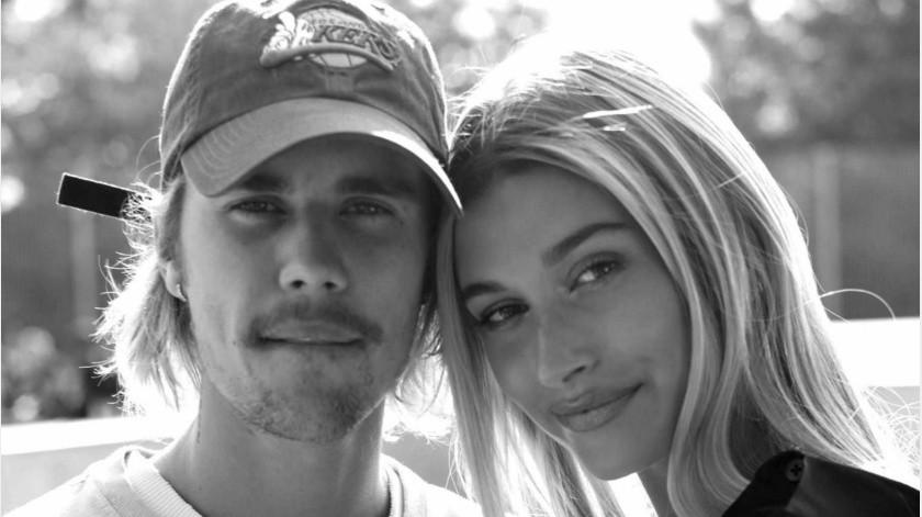 Justin Bieber y su esposa, Hailey Baldwin.(Tomada de la red)