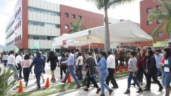 En punto de las 11:00 horas de la Ciudad de México de este lunes se llevó a cabo el primer macrosimulacro del 2020 a nivel nacional, con el objetivo de reforzar la cultura de la prevención.