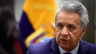 Lenín Moreno critica enérgicamente la demanda en su contra tras protestas en Ecuador