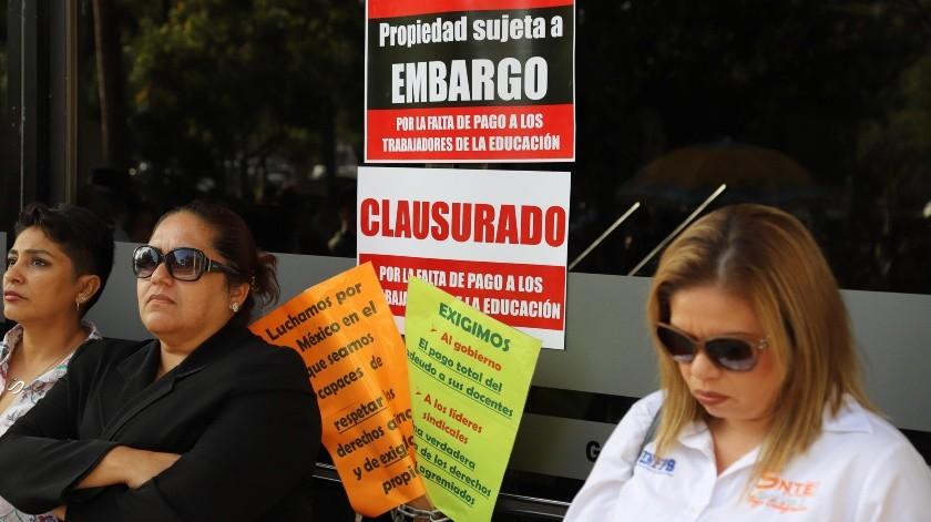 El retraso en la entrega de jubilaciones ha ocasionado manifestaciones en la comunidad docente.(Sergio Ortiz)