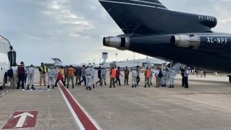 110 migrantes hondureños son repatriados por el INM