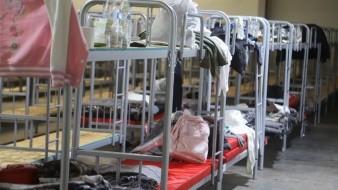 El albergue federal en Tijuana atiende actualmente a cerca de 70 migrantes centroamericanos.