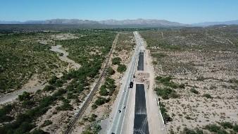 Avanza 99% carretera Cuatro Carriles: SCT
