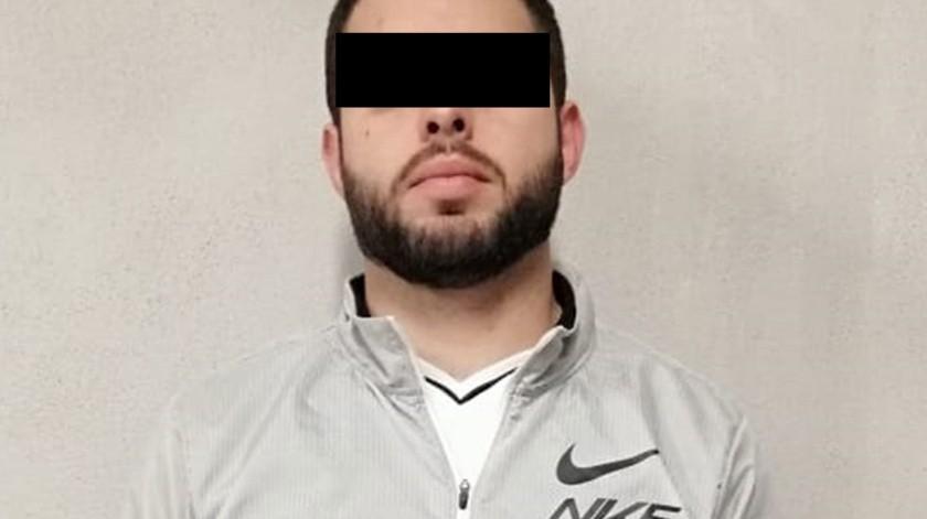 """El agente detenido está identificado como Jesús Fernando """"N"""".(Cortesía)"""