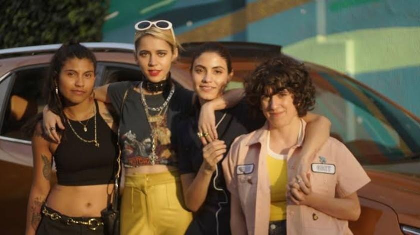 """Desenfrenadas"", serie mexicana llega a Netflix(Tomada de la Red)"
