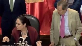 Censuran a Muñoz Ledo en plena tribuna; acusaba a GN por trato a migrantes