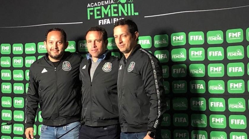 Gerardo Torrado, quien funge como director general deportivo de la FMF estuvo en Tijuana, así como Ignacio Hierro, director de Selecciones Nacionales y Jorge Tello, coordinador general de visorias de Selecciones Nacionales.(Johanna Mejía)