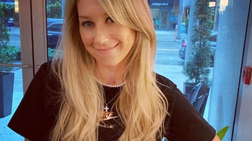 Se dice que la ex tenista tiene 7 meses de embarazo.(Instagram/Anna Kournikova)