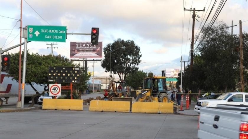 Alistan operativos para evitar congestionamiento vehicular en la zona.