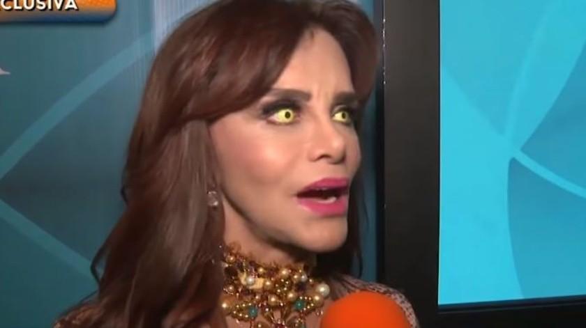 Lucía Mendéz además presume del talento de su hijo.(YouTube/Hoy)