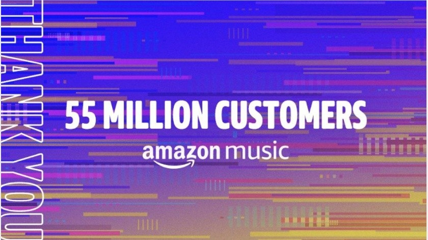 Amazon Music le pisa los talones a Spotify y Apple Music