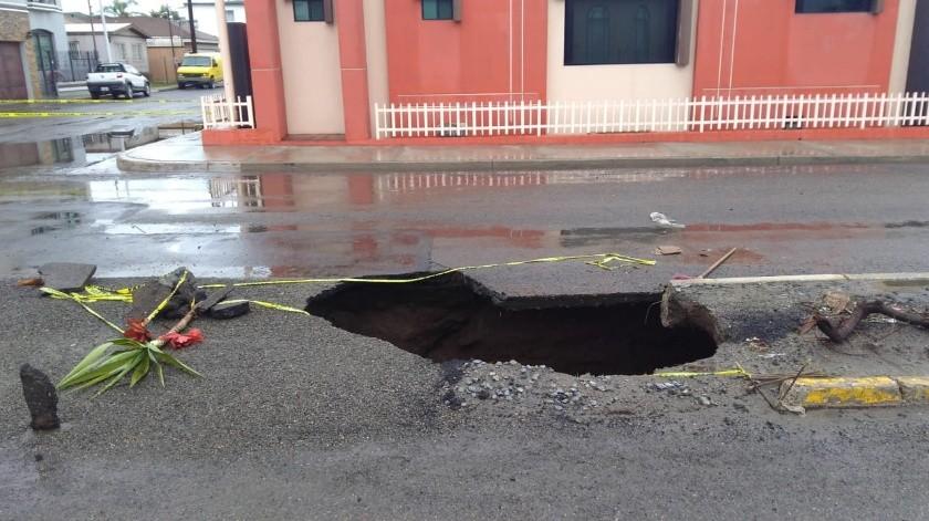 Denuncian falta de inversión en tuberías y drenaje de Ensenada.(Jayme García)
