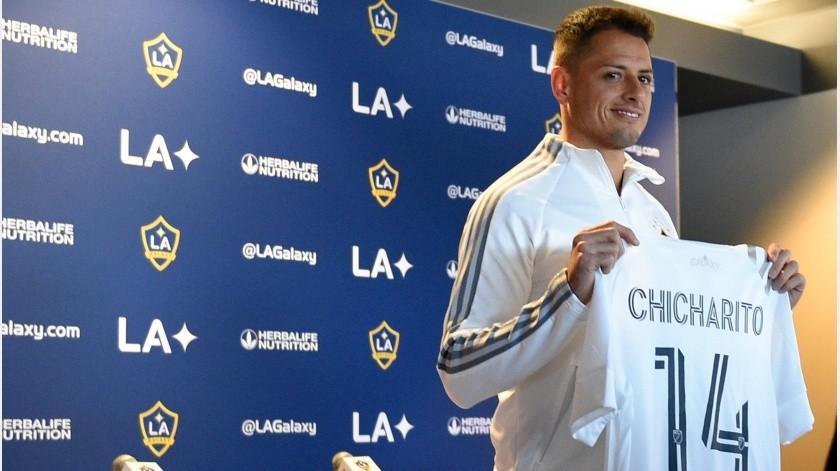 """Soy una leyenda: Chicharito quiere vivir cosas """"ch..."""" en LA Galaxy(EFE)"""