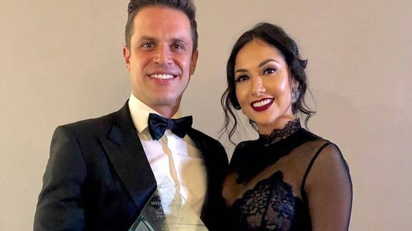 Cynthia Alesco podría pedirle el divorcio a Mark Tacher.