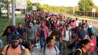 Siguen llegando migrantes al Sur del País.