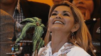 Jeanine Áñez anuncia candidatura a la presidencia de Bolivia