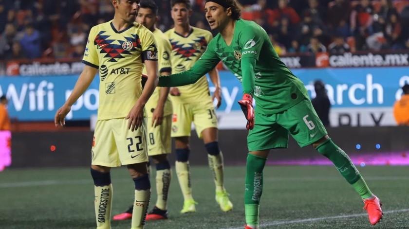 Xolos y América empatan sin goles
