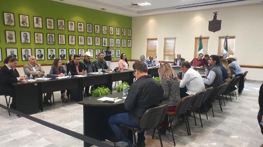En sesión de Cabildo se ratificó a Francisco Cano Castro como titular de la SSPM de Cajeme.(Susana Arana)
