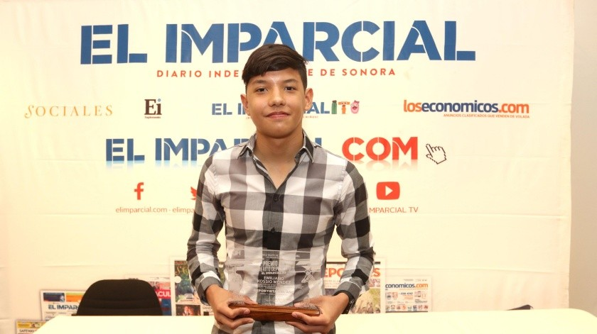 Emiliano Kossio fue el ganador del año pasado como deportista.(Julián Ortega)