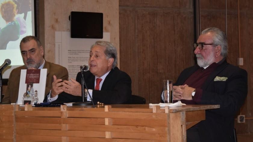 Paco Calderón, Luis C. López Morton Zavala y Luis Ignacio Sáinz(Cortesía)