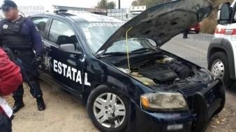 Policía pierde la vida tras choque contra  combi en CDMX