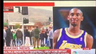 Una reportera del medio MSNBC es acusada de utilizar una palabra considerada racista para referiste al equipo de Los Angeles Lakers, mientras hacía su reportesobre la muerte de Kobe Bryant.