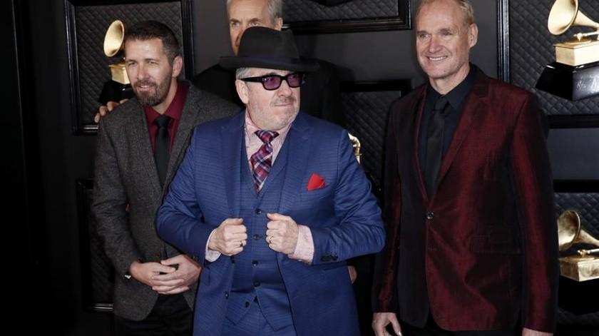 Steve Nieve, Pete Thomas, Elvis Costello y Davey Faragher.(EFE)