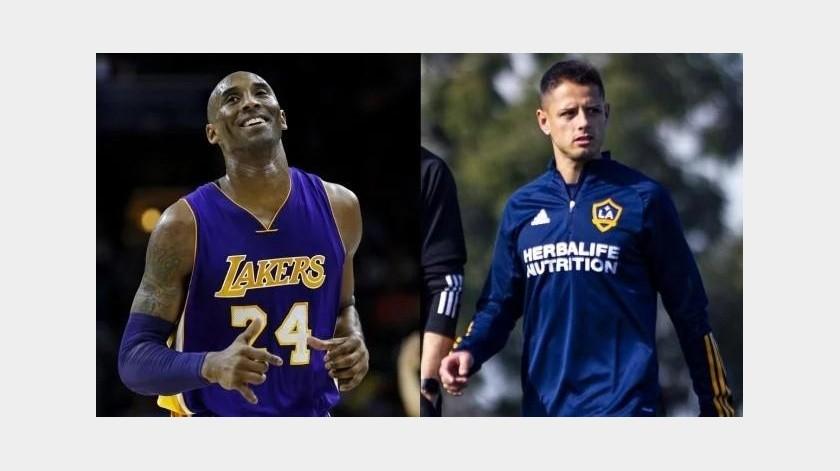 """El día que Kobe Bryant alabó la llegada del """"Chicharito"""" al Galaxy(Twitter)"""