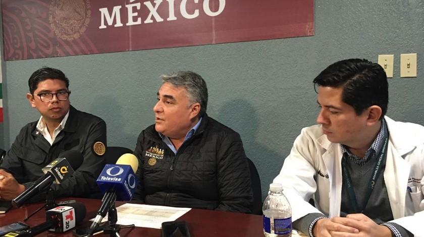 Jesús Alejandro Ruiz Uribe, delegado federal informó sobre la inversión en infraestructura médica.