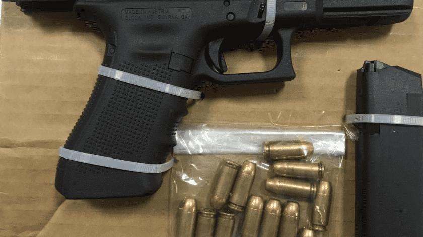 Veloz automovilista llevaba arma, en SLRC